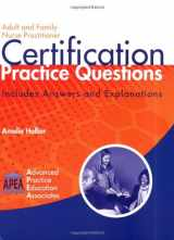 9781892418159-1892418150-Adult and Family Nurse Practitioner Certification Practice Questions