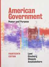 9780393283754-0393283755-American Government: Power and Purpose (Fourteenth Full Edition)