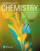 Chemistry: An Introduction to General, Organic, and Biological Chemistry Plus MasteringChemistry with eText -- Access Card Package (13th Edition)