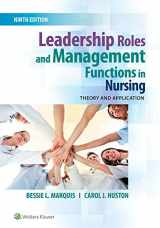 9781496349798-1496349792-Leadership Roles and Management Functions in Nursing: Theory and Application