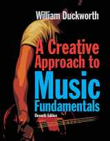 9780840029980-0840029985-A Creative Approach to Music Fundamentals (Book Only)