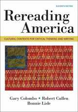 9781319056360-1319056369-Rereading America: Cultural Contexts for Critical Thinking & Writing