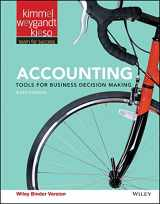 9781119191674-111919167X-Accounting, Binder Ready Version: Tools for Business Decision Making