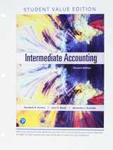 9780134833118-0134833112-Intermediate Accounting, Student Value Edition Plus MyLab Accounting with Pearson eText -- Access Card Package (2nd Edition)