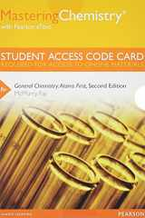 MasteringChemistry with Pearson eText -- Standalone Access Code Card -- for General Chemistry: Atoms First (2nd Edition)