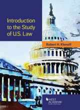 9781628101676-1628101679-Introduction to the Study of U.S. Law (American Casebook Series)