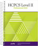 9781622029303-1622029305-HCPCS 2020 Level II Professional Edition (HCPCS Level II (American Medical Assn))