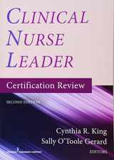 9780826137623-0826137628-Clinical Nurse Leader Certification Review, Second Edition