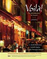 9781133950127-1133950124-Voila! An Introduction to French, Enhanced (with Audio CD)
