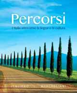9780133778007-0133778002-Percorsi: L'Italia attraverso la lingua e la cultura Plus MyLab Italian with Pearson eText (multi-semester) -- Access Card Package (3rd Edition)