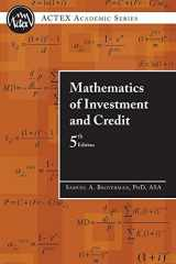 9781566987677-1566987679-Mathematics of Investment and Credit, 5th Edition (ACTEX Academic Series)