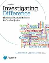 9780133012309-0133012301-Investigating Difference: Human and Cultural Relations in Criminal Justice