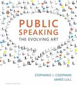 9781337090568-1337090565-Public Speaking: The Evolving Art (with MindTapTM Speech, 1 term (6 months) Printed Access Card)