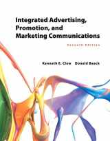 Integrated Advertising, Promotion, and Marketing Communications Plus MyMarketingLab with Pearson eText -- Access Card Package (7th Edition)
