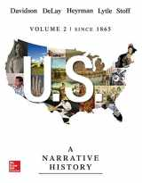 9780077780364-0077780361-US: A Narrative History, Volume 2: Since 1865