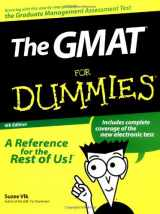 The GMAT for Dummies (For Dummies (Lifestyles Paperback))