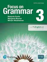 9780133854886-0133854884-NEW EDITION: Focus on Grammar 3 with MyEnglishLab (5th Edition)