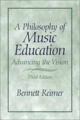 9780130993380-0130993387-A Philosophy of Music Education: Advancing the Vision (3rd Edition)