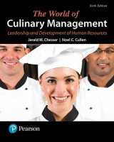 9780134484464-0134484460-The World of Culinary Management: Leadership and Development of Human Resources (6th Edition) (What's New in Culinary & Hospitality)