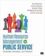 9781506382333-1506382339-Human Resource Management in Public Service: Paradoxes, Processes, and Problems