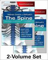 9780323393973-0323393977-Rothman-Simeone and Herkowitz's The Spine, 2 Vol Set (Rothman Simeone the Spine)