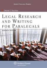 Legal Research & Writing for Paralegals Seventh Edition (Aspen College)