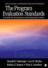 9781412989084-1412989086-The Program Evaluation Standards: A Guide for Evaluators and Evaluation Users