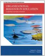 9780133489033-0133489035-Organizational Behavior in Education: Leadership and School Reform (11th Edition) (Allyn & Bacon Educational Leadership)