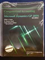 COMPUTERIZED ACCTG IN CLOUD MS DYN GP 2016 (SET ONLY-2 TEXTS)