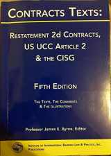 CONTRACTS TEXT: RESTATEMENT 2ND. CONTRACTS: US UCC ARTICLE 2 & THE CISG 5TH.ED.