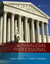 9780134130842-0134130847-The Paralegal Professional (5th Edition)