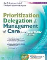 9780803633131-0803633130-Prioritization, Delegation, & Management of Care for the NCLEX-RN® Exam
