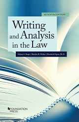 9781683282372-168328237X-Writing and Analysis in the Law (Coursebook)