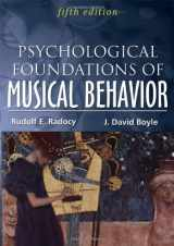 9780398088040-0398088047-Psychological Foundations of Musical Behavior