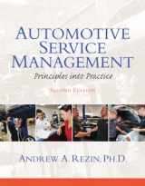 9780132725408-0132725401-Automotive Service Management (2nd Edition) (Automotive Comprehensive Books)