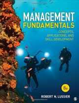 9781506389394-1506389392-Management Fundamentals: Concepts, Applications, and Skill Development