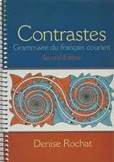 Contrastes: Grammaire du français courant and Workbook (2nd Edition)