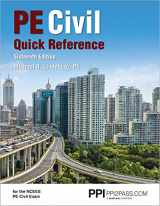 9781591265733-1591265738-PPI PE Civil Quick Reference, 16th Edition (Paperback) - A Comprehensive Reference Guide for the NCEES PE Civil Exam