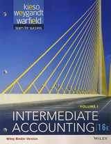 Intermediate Accounting, 16e Volume 1 Binder Ready Version with WileyPLUS Card Set