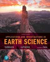 9780134748368-0134748360-Applications and Investigations in Earth Science Plus MasteringGeology with Pearson eText -- Access Card Package (9th Edition)
