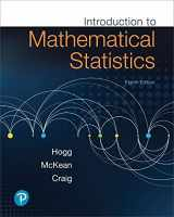 Introduction to Mathematical Statistics (8th Edition)