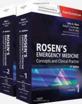 (2-Volume Set) Rosen's Emergency Medicine - Concepts and Clinical Practice : Expert Consult Premium Edition - Enhanced Online Features and Print, 8e