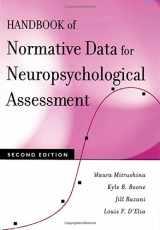 9780195169300-0195169301-Handbook of Normative Data for Neuropsychological Assessment