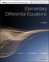 9781119443636-1119443636-Elementary Differential Equations