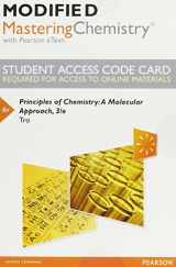 9780133926095-0133926095-Modified MasteringChemistry with Pearson eText -- Standalone Access Card -- for Principles of Chemistry: A Molecular Approach (3rd Edition)
