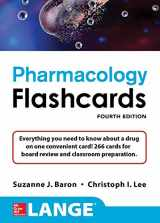 Lange Pharmacology Flash Cards, 4/E