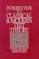 9780030616341-0030616344-Introduction to Classical and Modern Test Theory