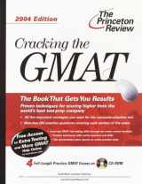 Cracking the GMAT with Sample Tests on CD-ROM, 2004 Edition (Graduate Test Prep)