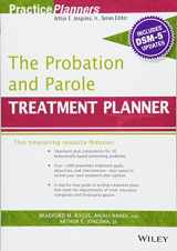 9781119073291-1119073294-The Probation and Parole Treatment Planner, with DSM 5 Updates (PracticePlanners)