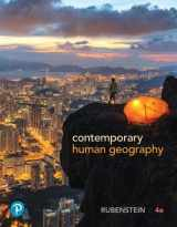 9780134746227-0134746228-Contemporary Human Geography (4th Edition)